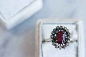 Diamonds Forever Ruby