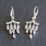 Dainty, Delicate + Feminine – Chandelier Diamond Earrings