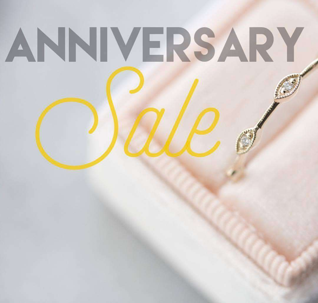 Diamonds Forever San Diego Anniversary Sale Banner